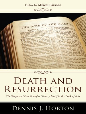 cover image of Death and Resurrection