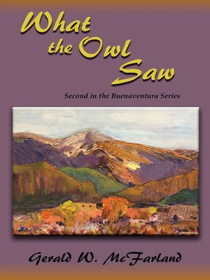 cover image of What the Owl Saw