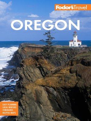 cover image of Fodor's Oregon