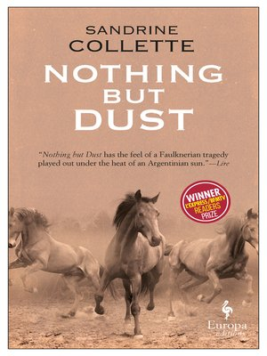 cover image of Nothing But Dust