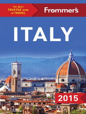 cover image of Frommer's Italy 2015