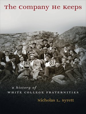 cover image of The Company He Keeps