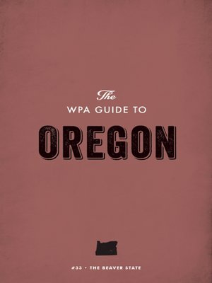 cover image of The WPA Guide to Oregon