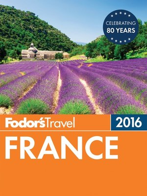 cover image of Fodor's France 2016