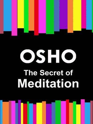 cover image of The Secret of Meditation