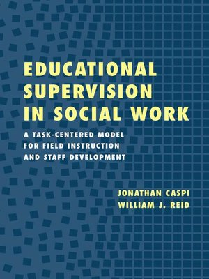 cover image of Educational Supervision in Social Work