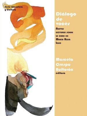 cover image of Diálogo de voces