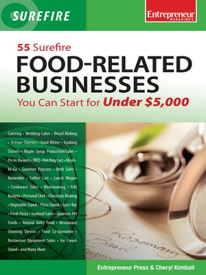 cover image of 55 Surefire Food-Related Businesses You Can Start for Under $5000