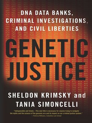 cover image of Genetic Justice