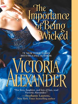 cover image of The Importance of Being Wicked