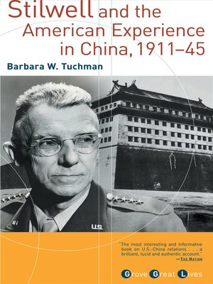 cover image of Stilwell and the American Experience in China, 1911-1945