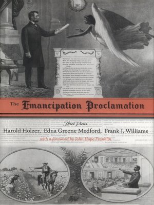 cover image of The Emancipation Proclamation