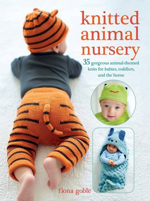 cover image of Knitted Animal Nursery