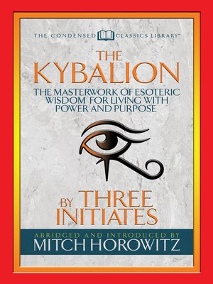 cover image of The Kybalion (Condensed Classics)