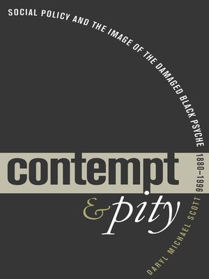 cover image of Contempt and Pity