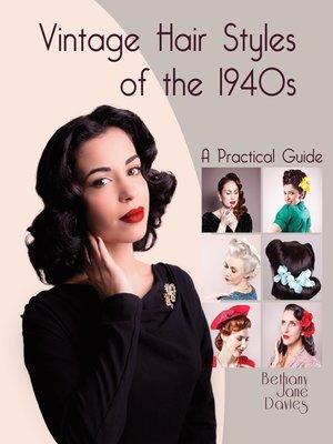cover image of Vintage Hair Styles of the 1940s