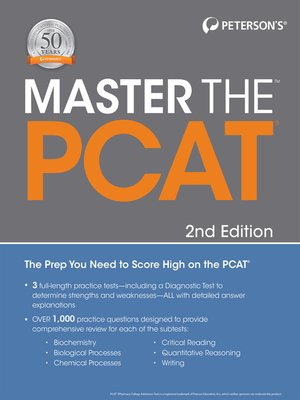 cover image of Master the PCAT