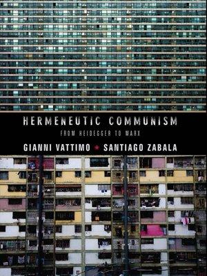 cover image of Hermeneutic Communism