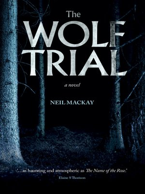 cover image of The Wolf Trial