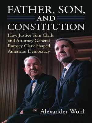 cover image of Father, Son, and Constitution