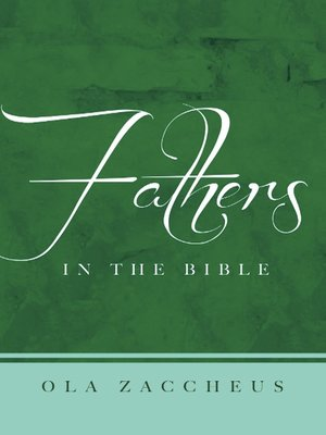 cover image of Fathers In the Bible