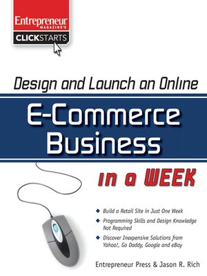 cover image of Design and Launch an E-Commerce Business in a Week
