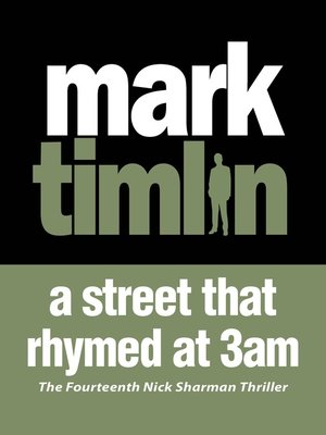 cover image of A Street that Rhymed at 3am