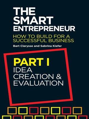the smart entrepreneur part i by bart clarysse