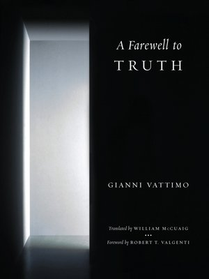 cover image of A Farewell to Truth