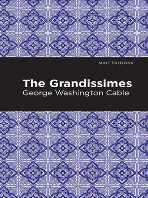 cover image of The Grandissimes