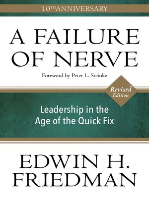 cover image of A Failure of Nerve