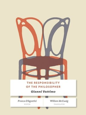 cover image of The Responsibility of the Philosopher