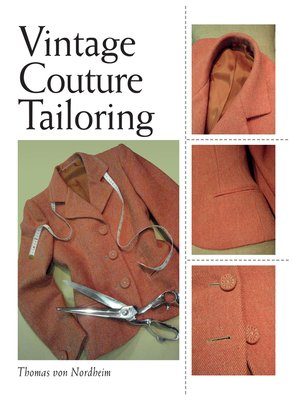 cover image of Vintage Couture Tailoring
