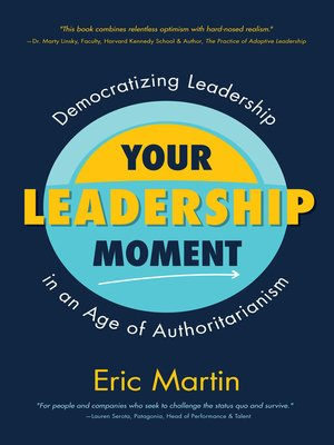 cover image of Your Leadership Moment