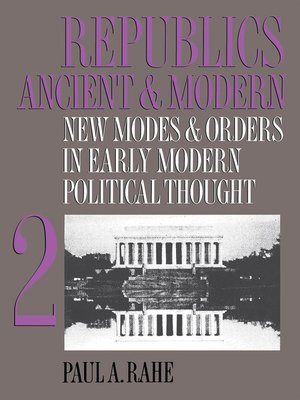 cover image of Republics Ancient and Modern, Volume II