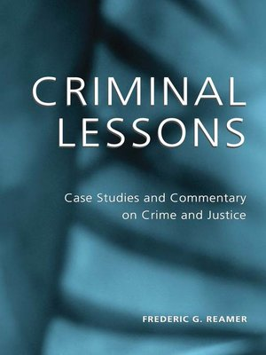 cover image of Criminal Lessons