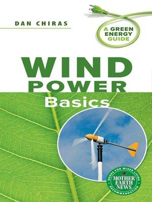 cover image of Wind Power Basics