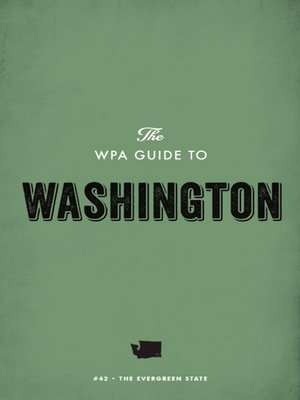 cover image of The WPA Guide to Washington