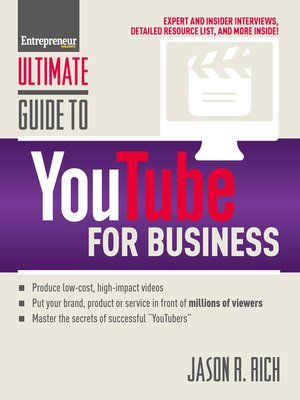 cover image of Ultimate Guide to YouTube for Business