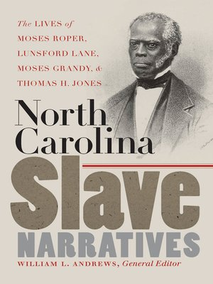 cover image of North Carolina Slave Narratives