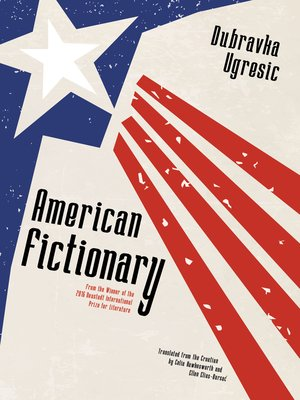 cover image of American Fictionary