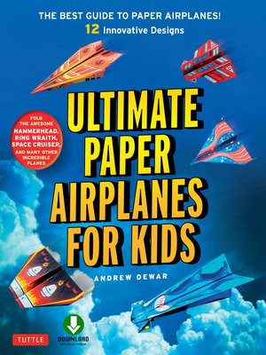 cover image of Ultimate Paper Airplanes for Kids