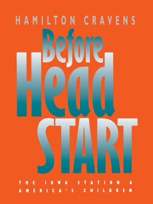 cover image of Before Head Start