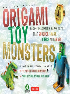 cover image of Origami Toy Monsters Kit Ebook