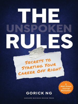 cover image of The Unspoken Rules