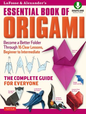 cover image of LaFosse & Alexander's Essential Book of Origami