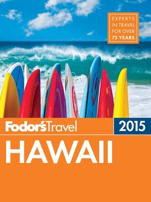cover image of Fodor's Hawaii 2015