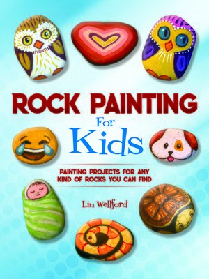 cover image of Rock Painting for Kids