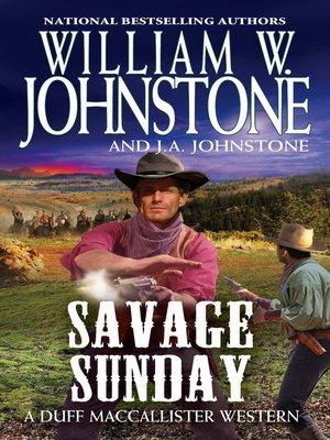 cover image of Savage Sunday