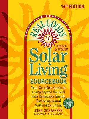 cover image of Real Goods Solar Living Sourcebook